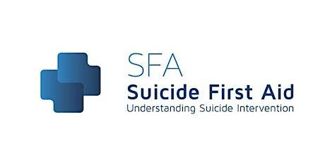 SFA: Suicide First Aid through Understanding Suicide Interventions 2020 - London Goldsmiths tickets