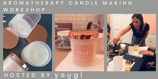Aromatherapy Candle Making Workshop, 10am, Sunday 15th March, Deptford