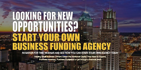 Start your Own Business Funding Agency Newark, NJ tickets