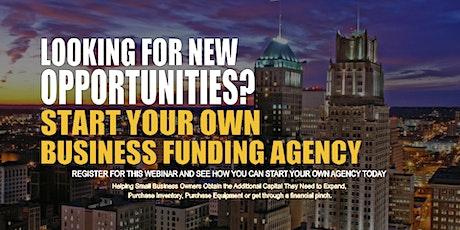 Start your Own Business Funding Agency Newark, NJ tickets