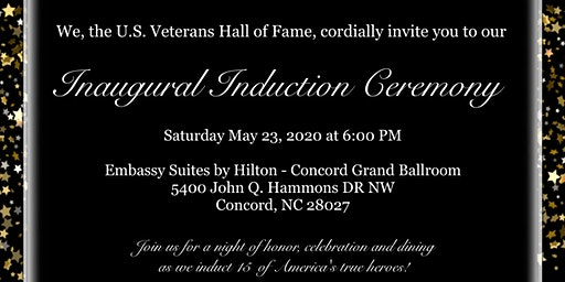 US Veterans Hall of Fame Induction Ceremony & Banquet