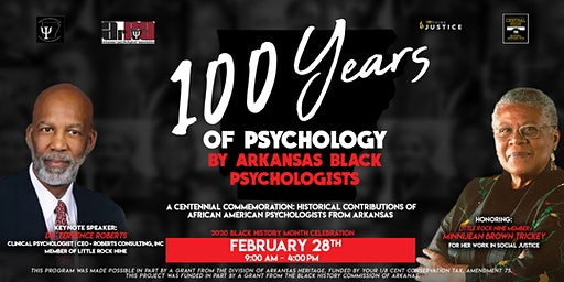 100 Years of Psychology by Arkansas Black Psychologists