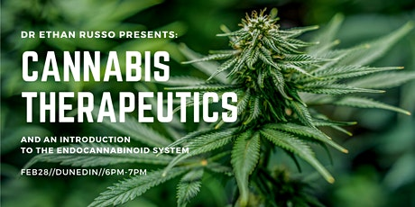 Dr Ethan Russo Presents: Cannabis Therapeutics & an Introduction to the ECS tickets