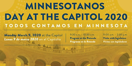Minnesotanos Day at the Capitol boletos