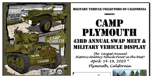 Camp Plymouth Military Vehicle Show & Swap Meet
