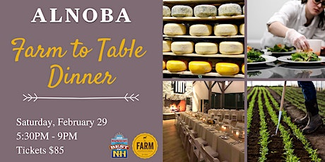 February 2020 Farm to Table Dinner tickets