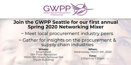 GWPP Seattle Spring 2020 Procurement Mixer tickets