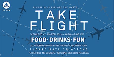 Take Flight: HI USA's Explore the World Scholarship Bungalow Fundraiser tickets