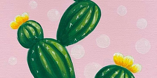 Cactus Painting Class