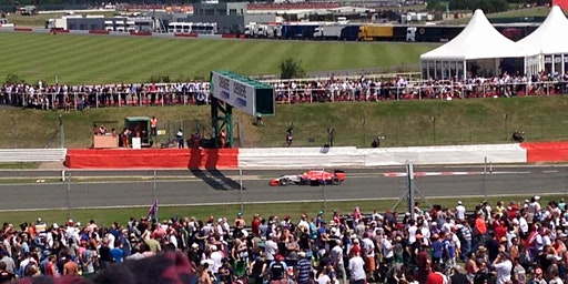 British Grand Prix Silverstone Charity Parking, 17-19 July 2020.