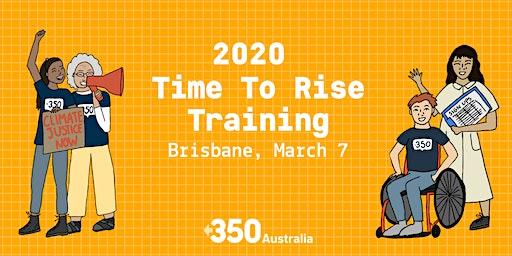 Time To Rise - Brisbane Training