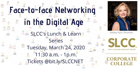 Networking Face-to-face Lunch & Learn Hosted by SLCC's Corporate College tickets