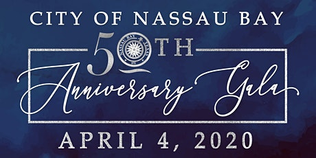 City of Nassau Bay 50th Anniversary Gala tickets