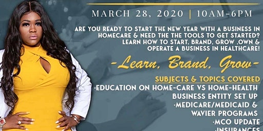 """5th Annual Home-Care Master Class """"2020 Vision"""""""