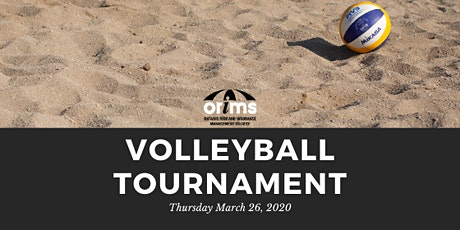2020 ORIMS Indoor Beach Volleyball Tournament tickets