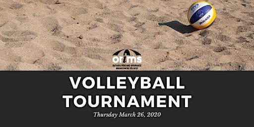 2020 ORIMS Indoor Beach Volleyball Tournament