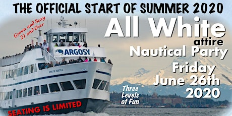 All White Party- Boat Cruise . 2020NauticalParty tickets