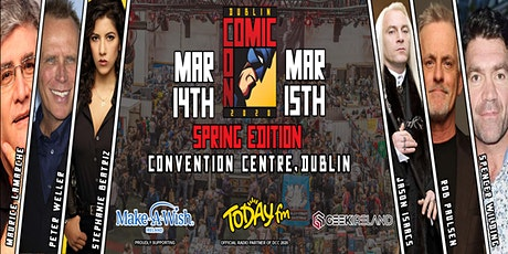 Dublin Comic Con 2020 : Spring Edition tickets