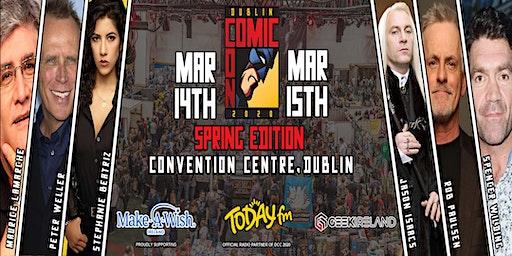 Dublin Comic Con 2020 : Spring Edition