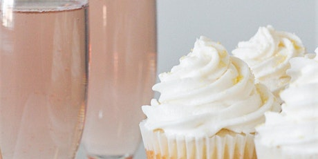 Boozy Cupcake Class ~ Pink Champagne Cupcakes tickets