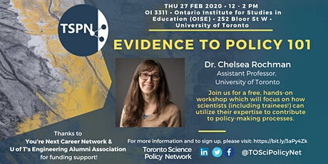 Evidence to Policy 101 tickets