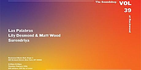 The Soundshop, vol.39 at Rockwood tickets