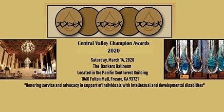 Central Valley Champion Awards 2020 tickets