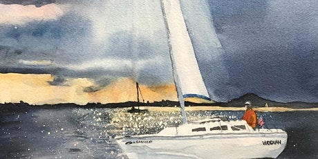 Magnificent Skies in Watercolor 2-day Workshop with April Rimpo tickets
