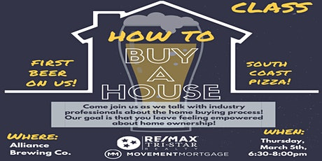 First Time Home Buyer Meet/Greet at Alliance Brewing tickets