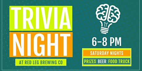 Trivia at Red Leg tickets