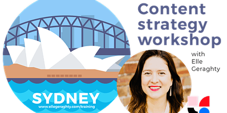 Content strategy in practice - Sydney - Feb 17 - Training workshop tickets