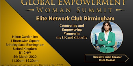 Elite Network Birmingham Central Club Launch tickets
