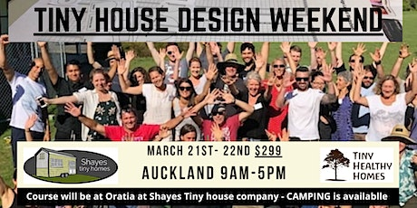 Tiny House Design Weekend (Auckland) tickets