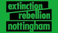 Extinction Rebellion Nottingham logo