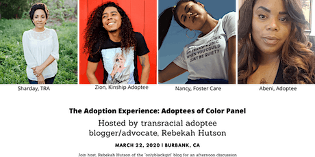 The Adoption Experience: An Adult Adoptee Panel & Mixer tickets