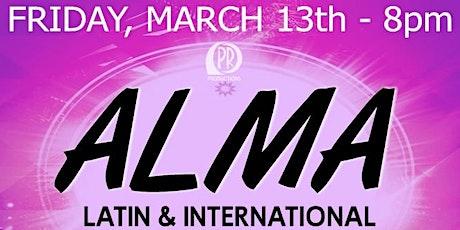 ALMA Latin + International @ City Winery Atlanta tickets