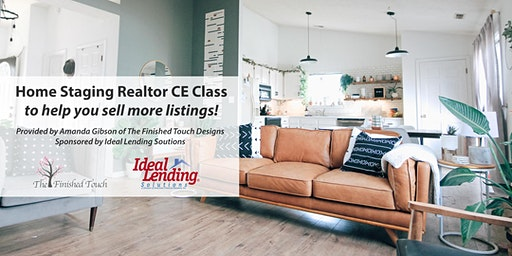 Home Staging Realtor CE Class to Help You Sell More Listings