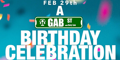 Gab Street Anniversary Party