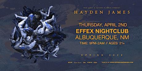 Hayden James (DJ Set) (Albuquerque, NM) tickets