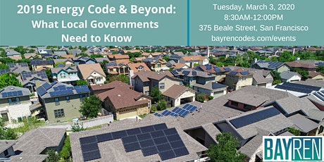 2019 Energy Code & Beyond: What Local Governments Need to Know tickets