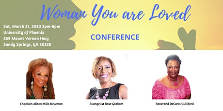 Woman You Are Loved Conference tickets