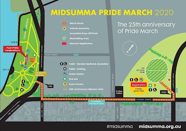 UniMelb at the 2020 Midsumma Pride March image