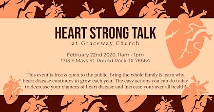 Heart Strong Talk at Graceway Church  tickets