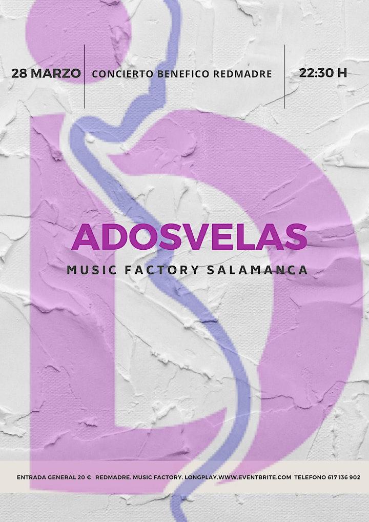 Imagen de ADOSVELAS EN SALAMANCA , CONCIERTO A BENEFICIO DE REDMADRE
