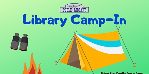 Library Camp-In