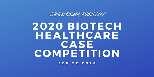 2020 BioTech Case Competition