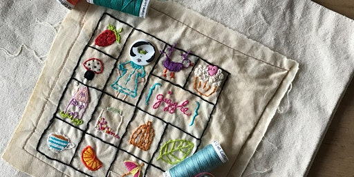 Favorite Things Embroidered Tote Bag Workshop