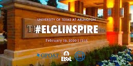 #ELGLInspire - University of Texas - Arlington