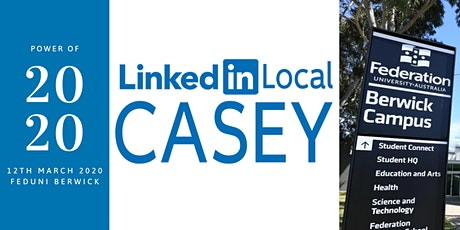 LinkedIn Local Casey Ch 6: Power of 2020 tickets