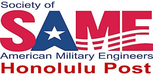 SAME Honolulu 2020 Engineers Week Kick-off Luncheon